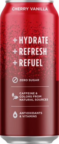 Sparkling Ice Zero Sugar Cherry Vanilla Sparkling Water Perspective: right