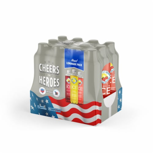 Sparkling Ice Lemonade Flavored Sparkling Water Variety Pack Perspective: right