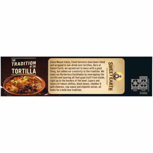 Sweet Earth Borderless Enchilada Frozen Meal Perspective: right