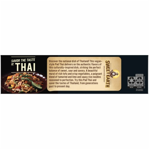 Sweet Earth Pad Thai Frozen Meal Perspective: right