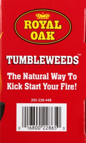 Royal Oak Tumbleweeds™ Natural Fire Starters Perspective: right
