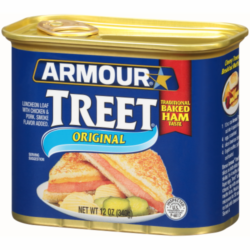 Armour Original Treet Canned Meat Perspective: right