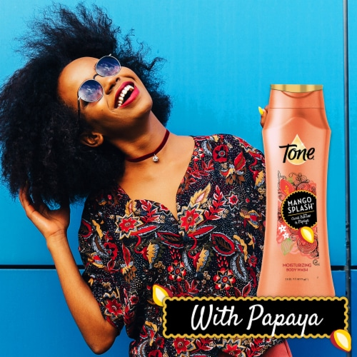 Tone Mango & Cocoa Butter Moisturizing Body Wash Perspective: right