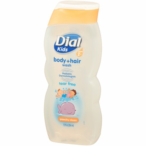 Dial Kids Peachy Clean Tear Free Body Wash Perspective: right
