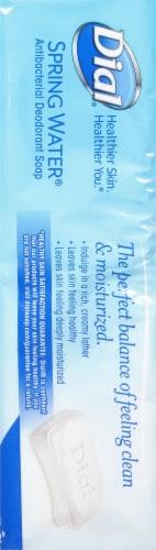 Dial Spring Water Antibacterial Deodorant Soap Bars Perspective: right
