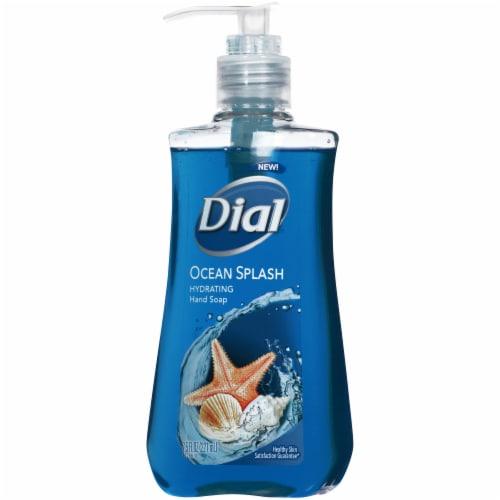 Dial Ocean Splash Hydrating Liquid Hand Soap Perspective: right