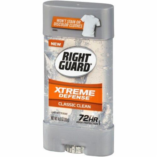 Right Guard® Xtreme Defense Classic Clean Deodorant Perspective: right