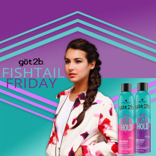 got2b® Flex Insta Hold Hairspray Perspective: right