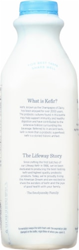 Lifeway Low Fat Plain Kefir Perspective: right