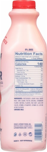 Lifeway® Low Fat Strawberry Kefir Perspective: right