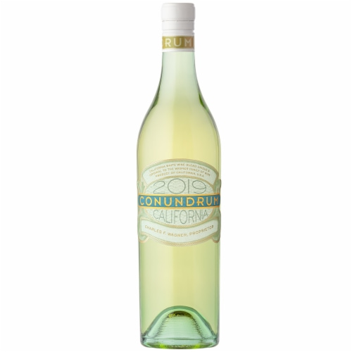 Caymus Vineyards Conundrum White Wine Perspective: right