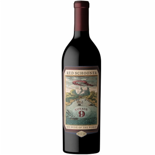 Caymus Vineyards Red Schooner Voyage 7 Red Wine Perspective: right