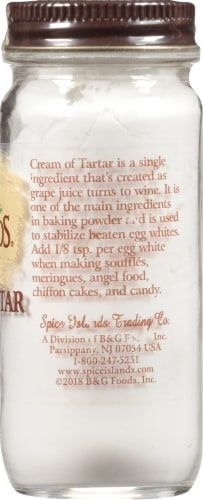 Spice Islands Cream of Tartar Perspective: right