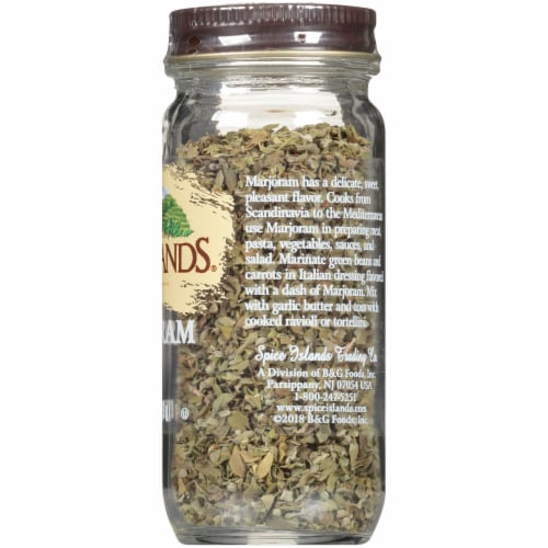 Spice Islands Marjoram Perspective: right