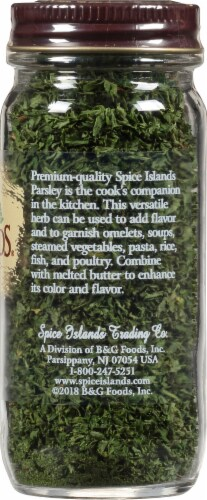Spice Islands Parsley Perspective: right