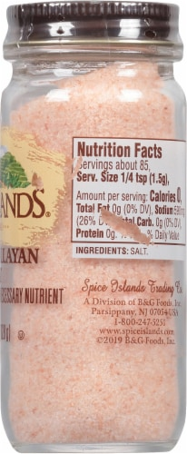 Spice Islands Pink Himalayan Salt Perspective: right