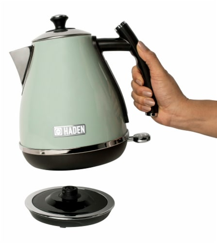 Haden Cotswold Stainless Steel Cordless Electric Kettle - Sage Green Perspective: right
