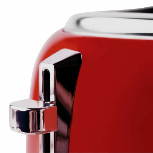 Haden Dorset 4-Slice Toaster - Red Perspective: right