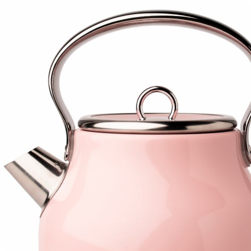 Haden Heritage Stainless Steel Electric Kettle - English Rose Perspective: right