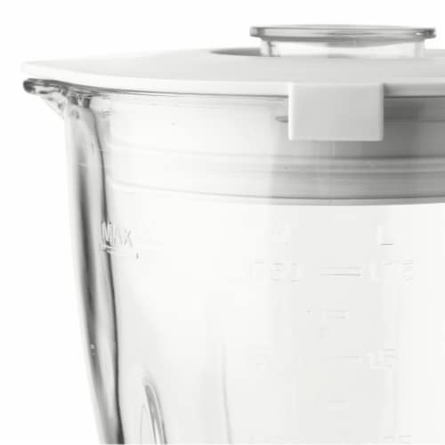 Haden Heritage 5-Speed Retro Blender with Glass Jar - Ivory White Perspective: right