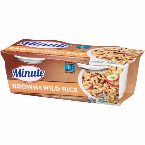 Minute Ready to Serve Brown & Wild Rice Cups Perspective: right