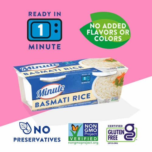 Minute™ Ready to Serve Basmati Rice Perspective: right