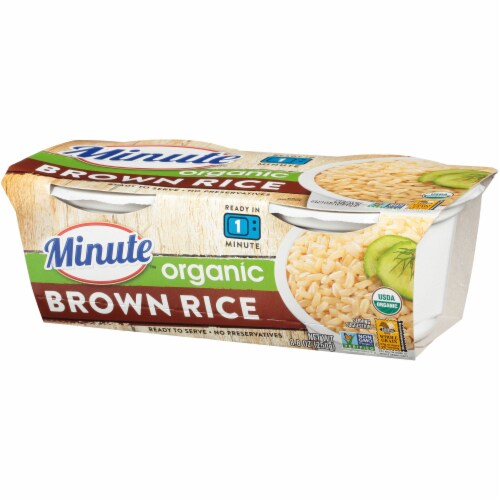 Minute Ready to Serve Organic Brown Rice Cups Perspective: right