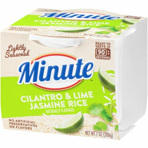 Minute Ready to Serve Cilantro & Lime Jasmine Rice Perspective: right