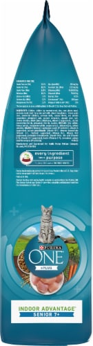 Purina ONE Vibrant Maturity 7+ Natural Senior Dry Cat Food Perspective: right