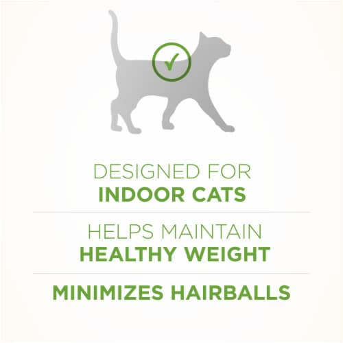 Purina ONE Indoor Advantage Hairball & Weight Control Natural Cat Food Perspective: right