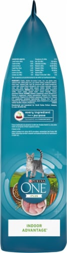 Purina ONE Indoor Advantage Hairball & Weight Control Natural Dry Cat Food Perspective: right
