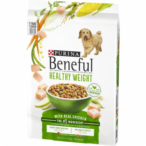 Beneful Healthy Weight with Real Chicken Dry Dog Food Perspective: right