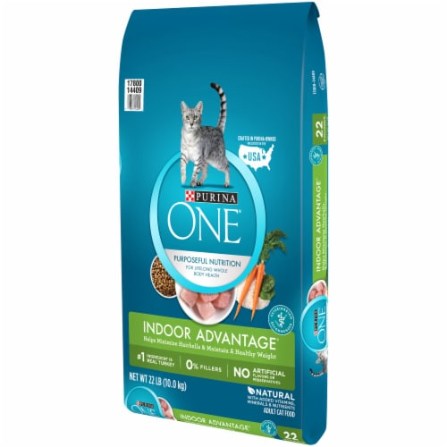 Purina ONE Indoor Advantage Dry Cat Food Perspective: right