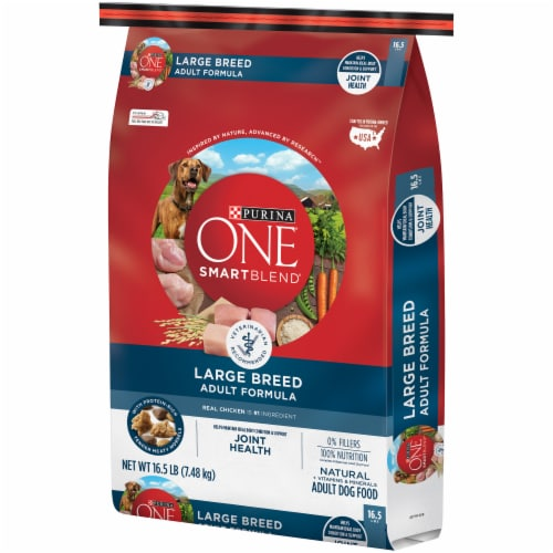 Purina ONE SmartBlend Natural Large Breed Dry Adult Dog Food Perspective: right