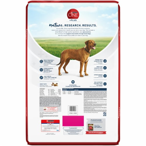 Purina ONE SmartBlend Joint Health Large Breed Adult Formula Natural Dry Dog Food Perspective: right