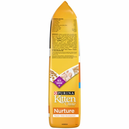 Purina Kitten Chow Nurture Dry Kitten Food Perspective: right