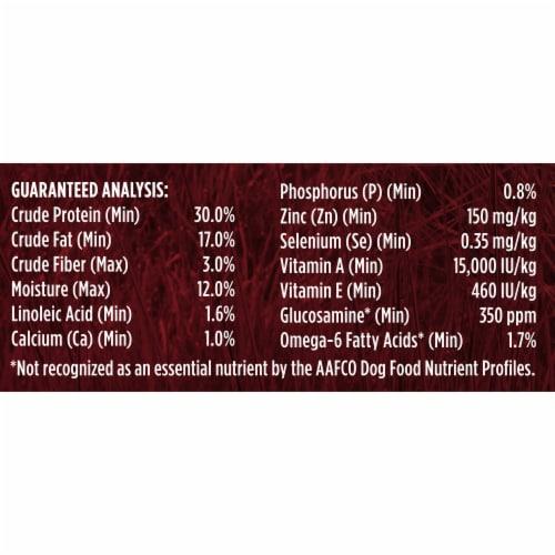 Purina ONE SmartBlend True Instinct Turkey & Venison Natural Dry Dog Food Perspective: right