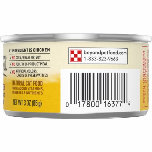 Beyond® Grain Free Chicken & Sweet Potato Recipe Pate Wet Cat Food Perspective: right