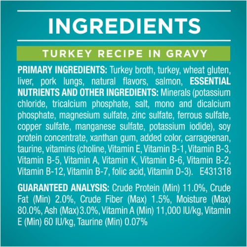 Purina ONE True Instinct Protein-Rich Wet Cat Food Variety Pack Perspective: right