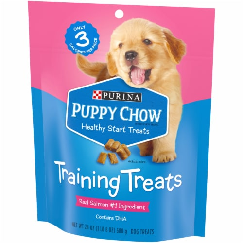 Puppy Chow Healthy Start Dog Training Treats Perspective: right