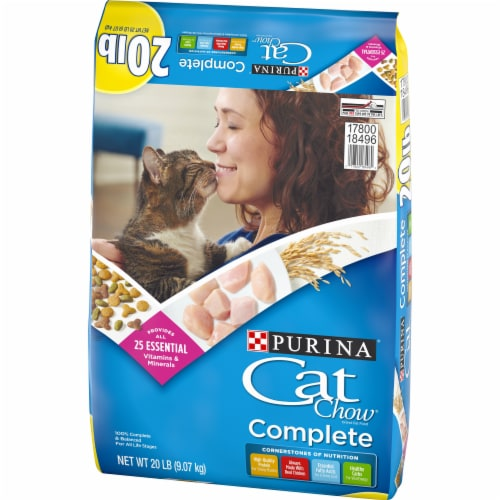 Cat Chow Complete Dry Cat Food Perspective: right