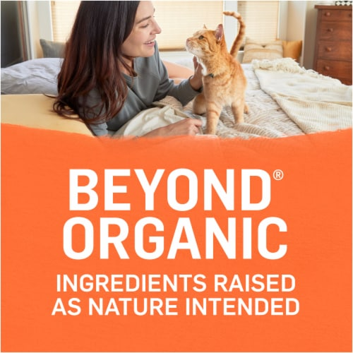 Beyond Organic Chicken Egg and Sweet Potato Dry Cat Food Perspective: right