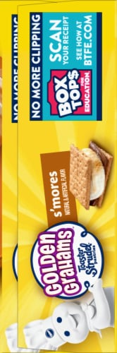 Pillsbury Golden Grahams S'Mores Toaster Strudel Pastries Perspective: right