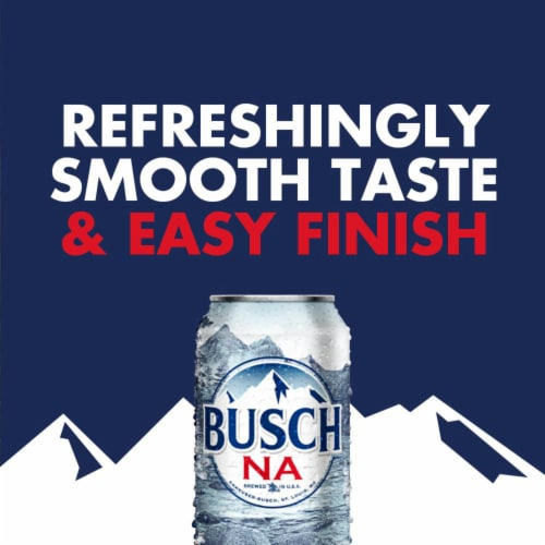 Busch Non-Alcoholic Beer Perspective: right