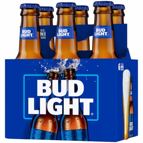 Bud Light Minis Lager Beer Perspective: right