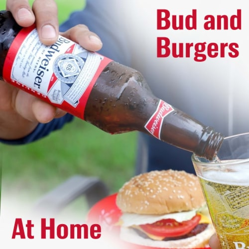 Budweiser® Lager Beer Perspective: right