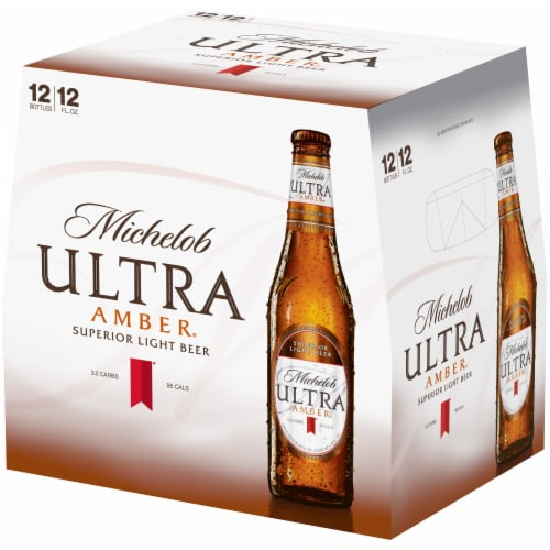 Michelob Ultra Amber Beer Perspective: right