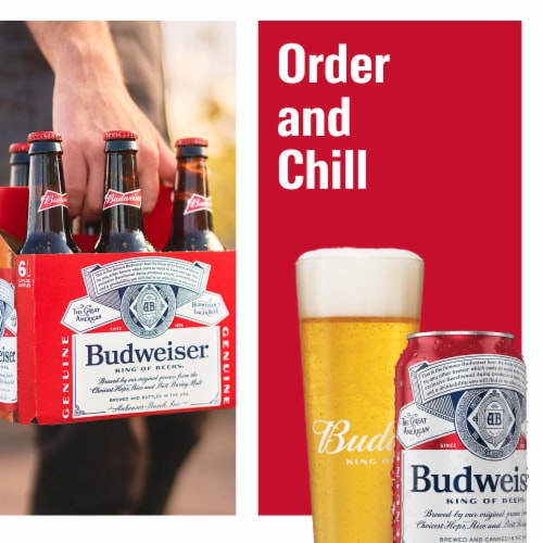 Budweiser Beer (15 Pack) Perspective: right