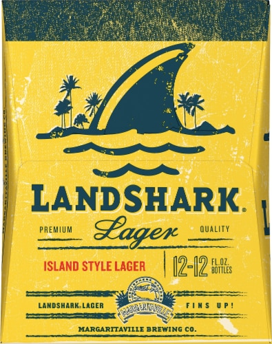 LandShark Lager 12 Pack Perspective: right