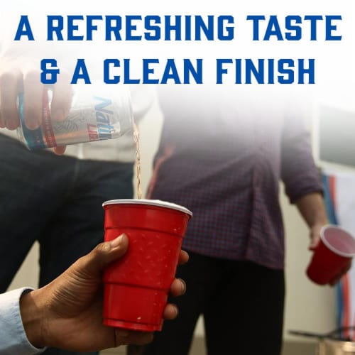 Natural Light Natty Pack Beer Perspective: right
